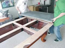 Pool table moves in Riverside California
